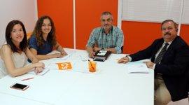Gestores energéticos de Andalucía se reúnen con Ciudadanos para conocer las demandas del colectivo profesional