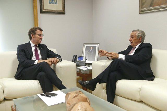Reunión del titular de la Xunta con el presidente de la CNMC.