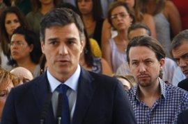 Podemos no da por seguro que el PSOE de Pedro Sánchez se vaya a alejar del PP y espera ver hechos