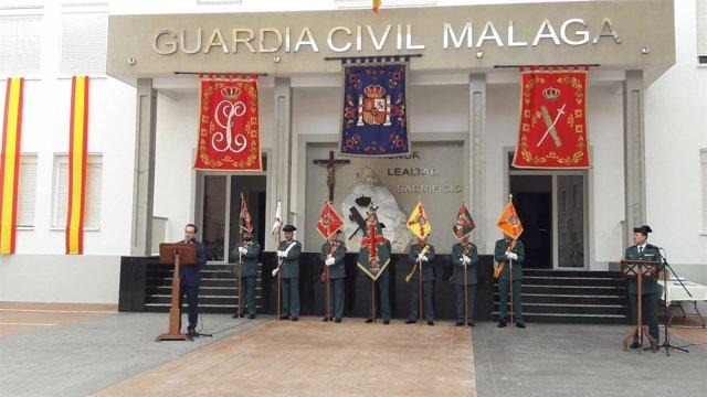 Briones 173 aniversario guardia civil málaga subdelegado gobierno