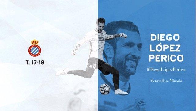 Anuncio del fichaje de Diego López