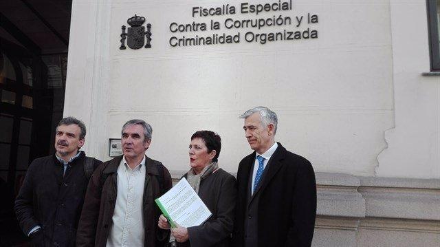 Portavoces de la oposición en la Fiscalía Anticorrupción
