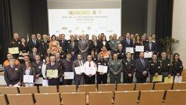Homenaje a los profesionales privados, que contribuyen a la seguridad de Cantabria