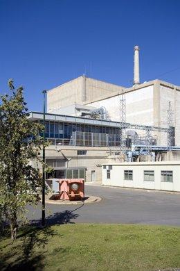 Imagen del exterior de la central nuclear de Santa María de Garoña