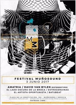Cartel del Festival Muñosund 2017
