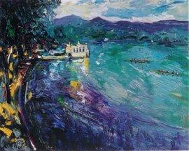 Mollet del Vallès (Barcelona) expone 35 pinturas de Joan Abelló sobre la Barcelona olímpica