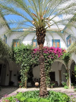 Patio de Recibo del Palacio de Viana de Córdoba, que da nombre a la Fundación