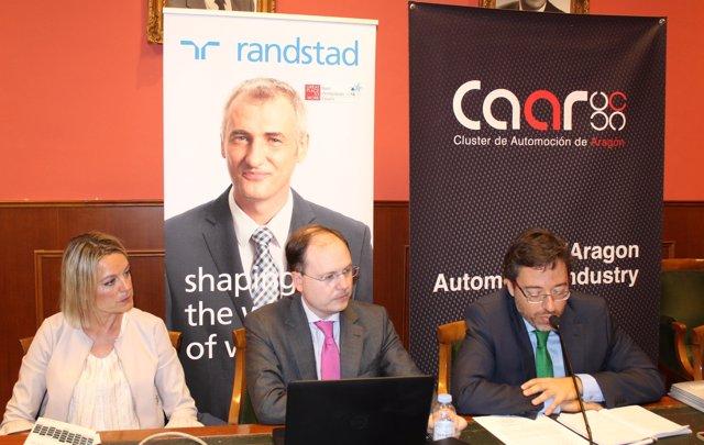 Randstad y el Clúster de Automoción de Aragón presentan su estudio