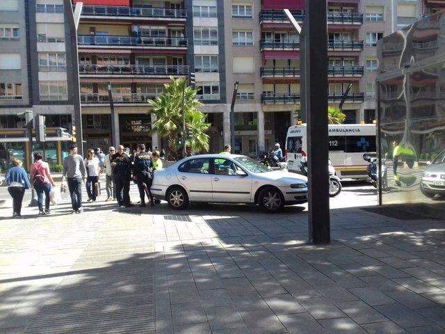 Accidente en Gran Vía con San Antón