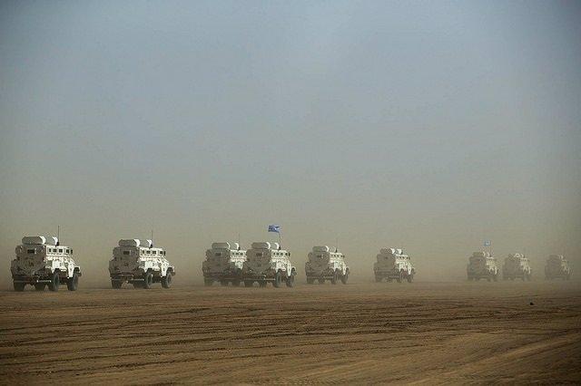 Convoy de la MINUSMA en Malí