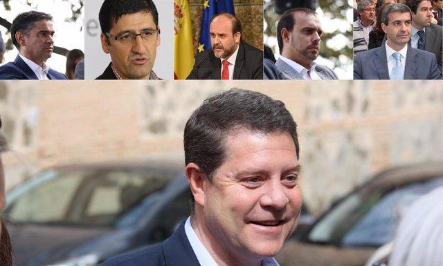 MOnatje Page y presidentes provinciales