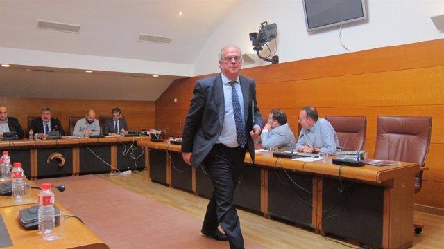 Arsenio de la Vega en la comisión de investigación de Ecomasa