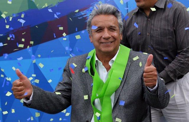 El presidente electo de Ecuador, Lenín Moreno