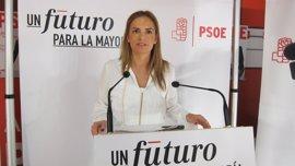 """Sumelzo (PSOE) dice que """"no es tiempo de hablar de quién apoya a unos o a otros"""""""