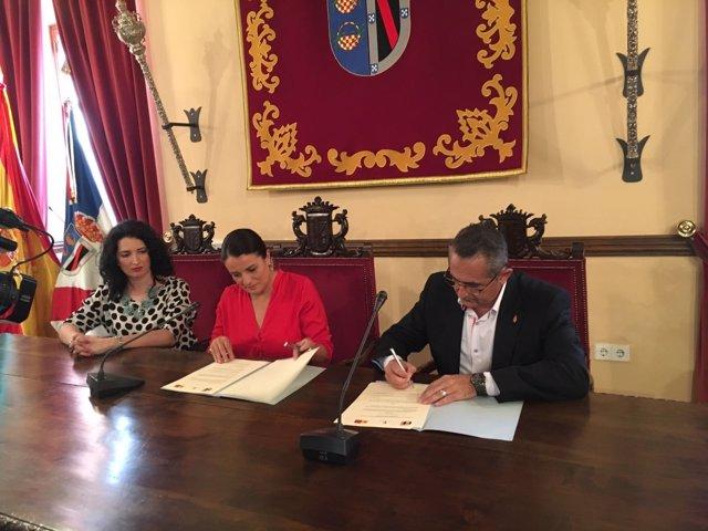 Acuerdo entre el Ayuntamiento de Almonte y de La Unión (Murcia).