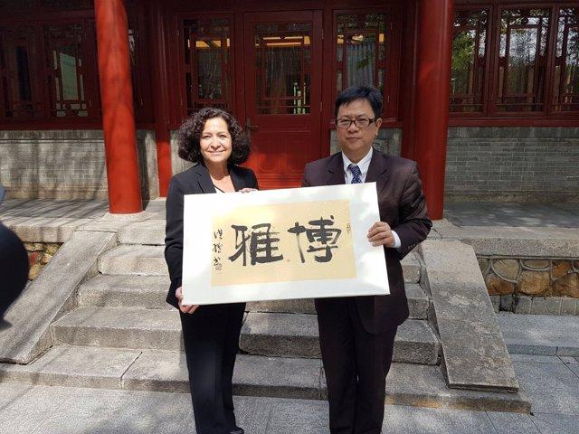 La rectora Pilar Aranda ha encabezado la delegación de la UGR en China