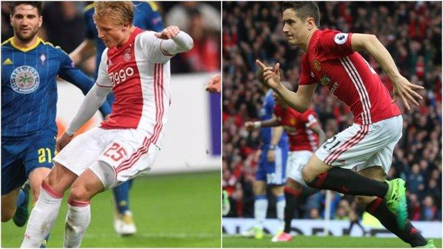 Ajax y Manchester United se enfrentan por la Europa League