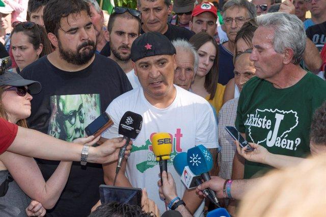 Andrés Bódalo sale de la cárcel de Jaén después de 419 dias para un permiso