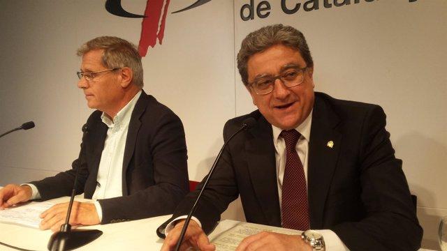 Enric Millo y Alberto Fernández