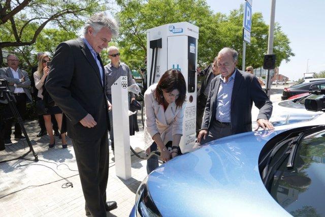 El AMB abre un punto de recarga rápida de vehículos eléctricos en Gavà