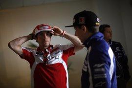 """Lorenzo, sobre Hayden: """"Era una persona muy querida en el paddock, muy alegre y con mucha energía"""""""