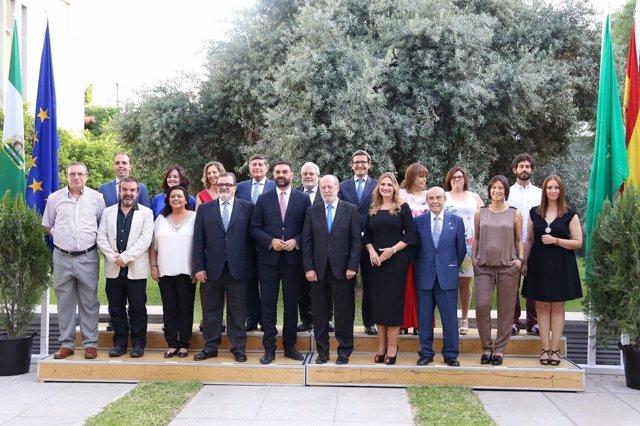 Galardonados en el Día de la Provincia de Sevilla