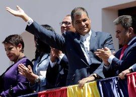"""Rafael Correa deja el trono de Carondelet tras una """"década ganada"""" para Ecuador"""