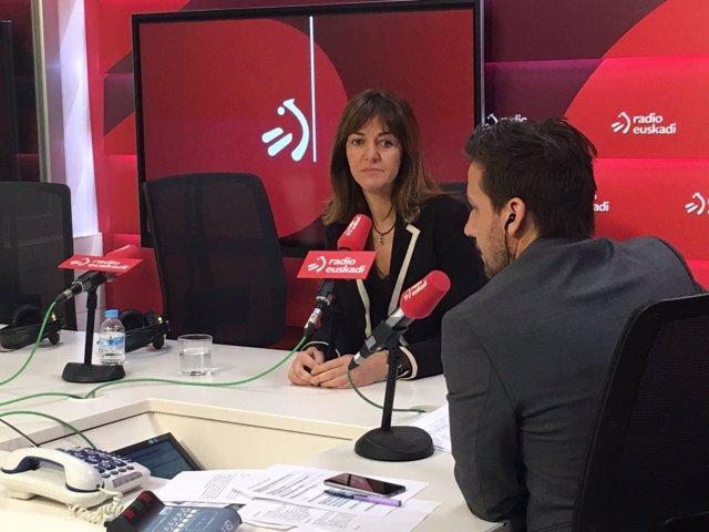 Idoia Mendia en Radio Euskadi