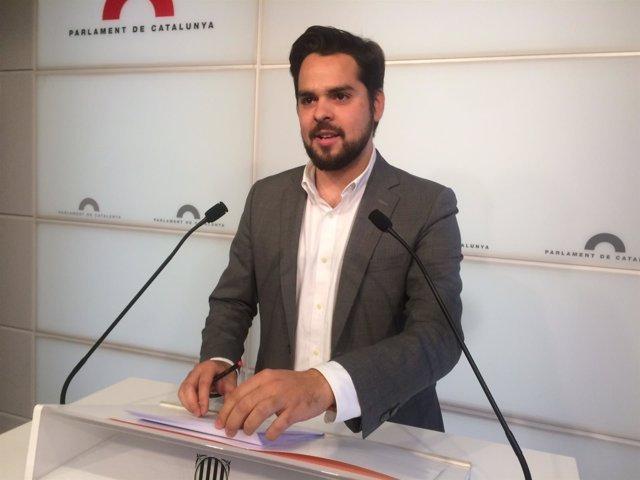 El secretario de comunicación de Cs Fernando de Páramo