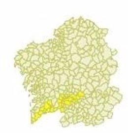 Aviso por temperaturas máximas en Galicia el 24 de mayo