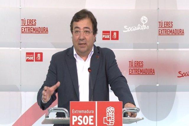 """Vara ofrece """"toda"""" su """"ayuda"""" y """"disposición"""" a Sánchez"""