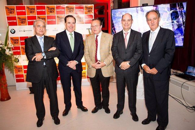 Presentación de la Copa del Rey de Vela en Madrid
