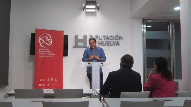 El vicepresidente de la Diputación de Huelva, José Luis Ramos.