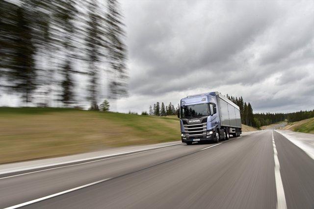 Recurso de camión de Scania