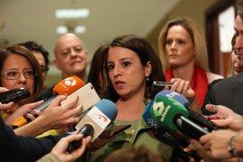 """Adriana Lastra dice que """"hay que buscar"""" una solución """"política"""" para Cataluña"""