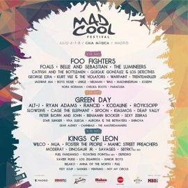 Horarios del Mad Cool Festival 2017