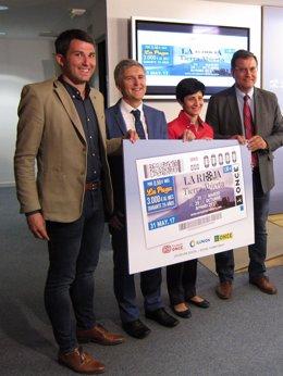 Presentación cupón ONCE La Rioja Tierra Abierta