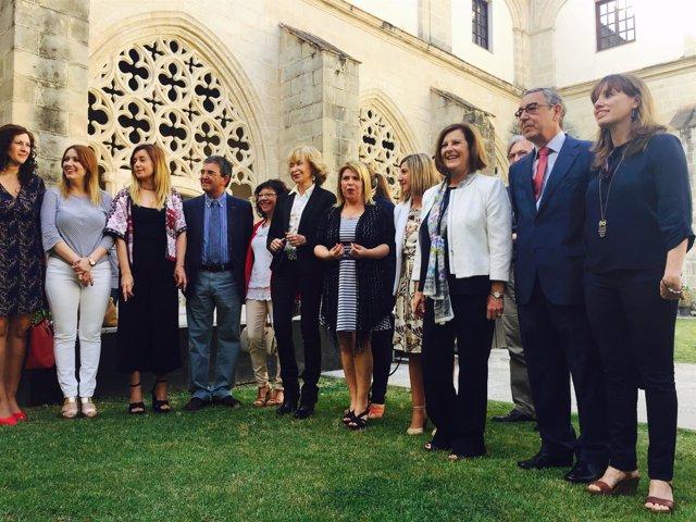 Sánchez Rubio participa en un foro de mujeres en Jerez de la Frontera