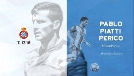 Pablo Piatti ficha por el Espanyol hasta 2020 por 1,5 millones