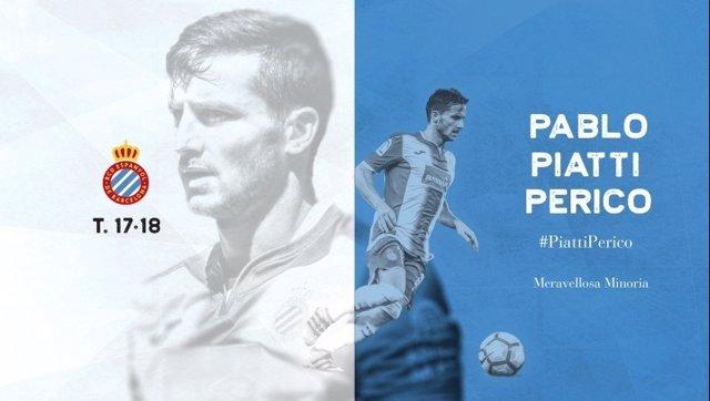 Pablo Piatti renueva por el RCD Espanyol