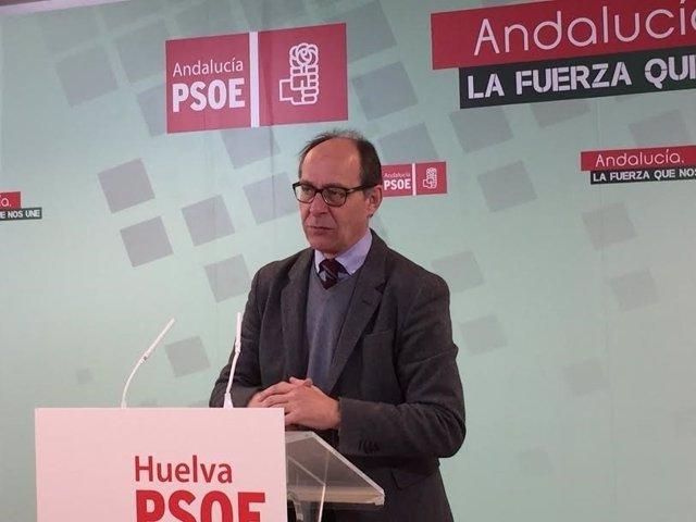 El diputado socialista por el PSOE de Huelva José Juan Díaz Trillo.