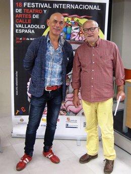 Valladolid.- Alberto Estébanez y Javier Martínez