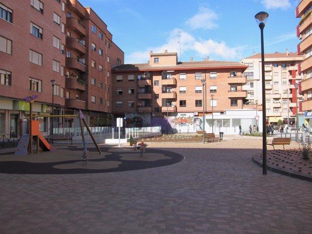 Imagen de la remodelada Plaza Verano