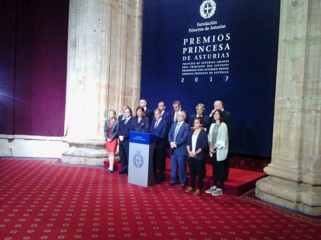 Jurado de los Premios Princesa de los Deportes.