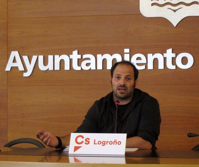 El concejal de Ciudadanos Antonio Fuertes