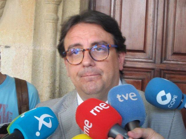 José María Vergeles, consejero de Sanidad de la Junta de Extremadura