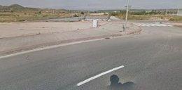 Imagen de la parcela del antiguo depósito de vehículos