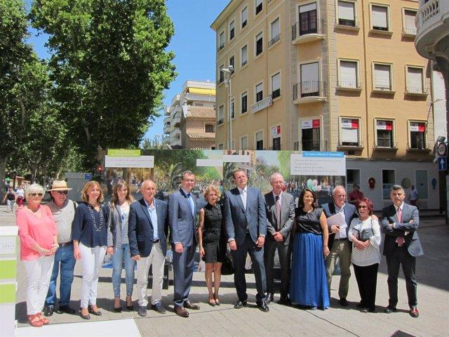 Ballesta y Ortiz presentan el proyecto de Alfonso X