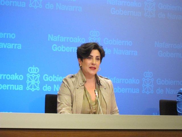 La consejera de Educación, María Solana
