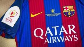 El FC Barcelona lucirá una camiseta con emblema de la Copa y datos de la final